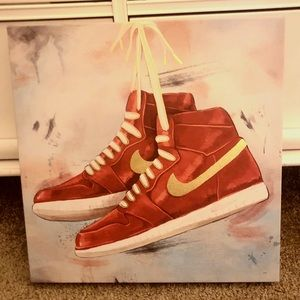 Nike Jordan Canvas Art